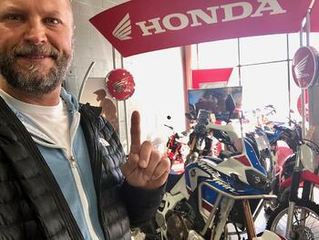 New Honda Africa Twin Adventure Sports