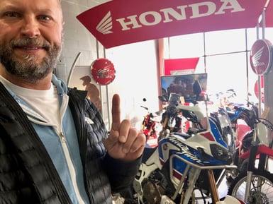 New Honda Africa Twin Adventure Sport