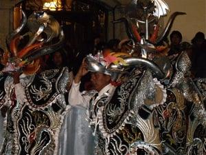 University Parade Puno Peru
