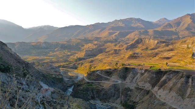 Colca Canyon Peru 4x4 Truck Tour