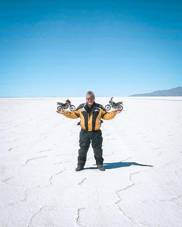 RIDE Bolivia Salt flats