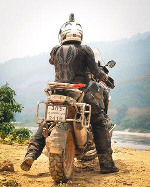 RIDE Thailand Laos on BMW
