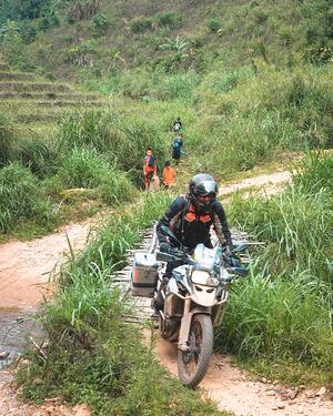 Dirt Roads Motorcycles and Thailand