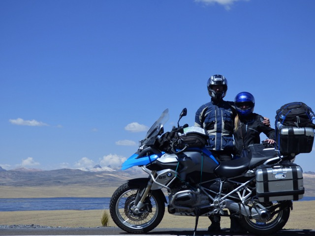 Rory Aiken Andes Motorcycle Trip