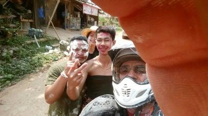 Songkran Motorcycle Adventure Crowd