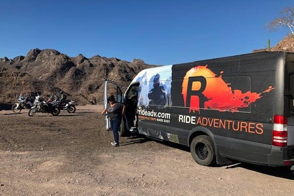 Support Truck Van Baja Trip
