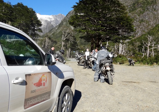 Truck Supported Motorcycle Trip in Patagonia
