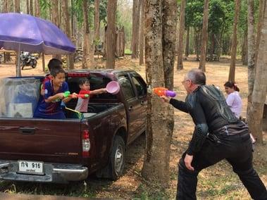 Water Fight Thailand