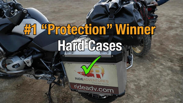 hard motorcycle cases win category one