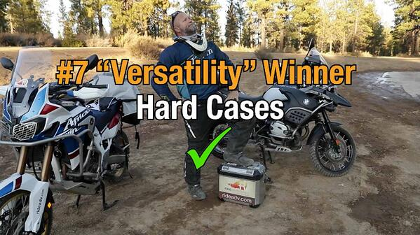 Hard motorcycle cases win category seven