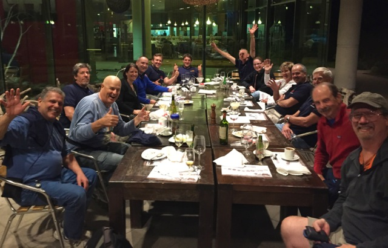 Group Dinner Patagonia