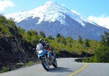 Riding Patagonia Lakes District