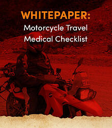 Motorcycle Travel Medical Checklist