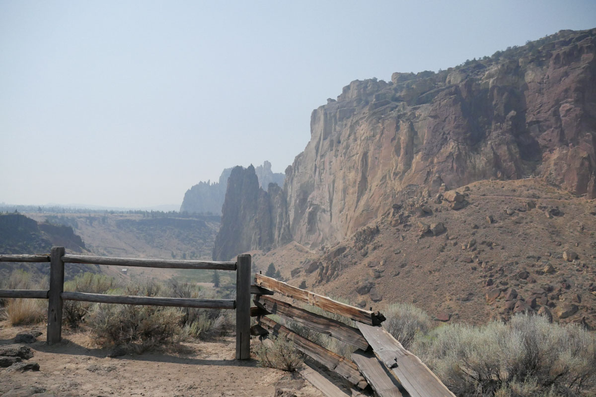 Viewpoint at Smith Rock State Park.