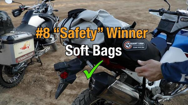 Soft motorcycle bags win category eight
