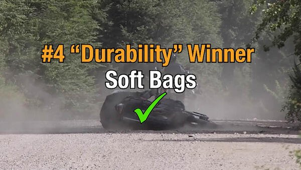 Soft motorcycle bags win category four