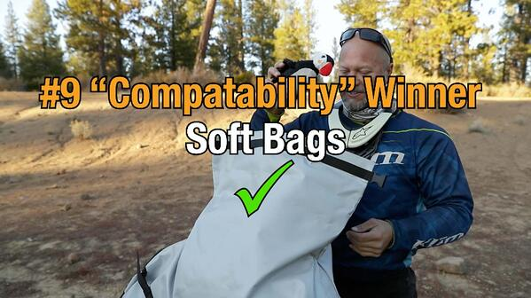 Soft motorcycle bags win category nine