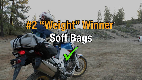 Soft motorcycle bags win category two