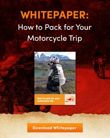 How to Pack for your Motorcycle Trip