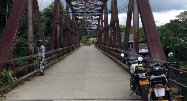 colombia motorcycle trips