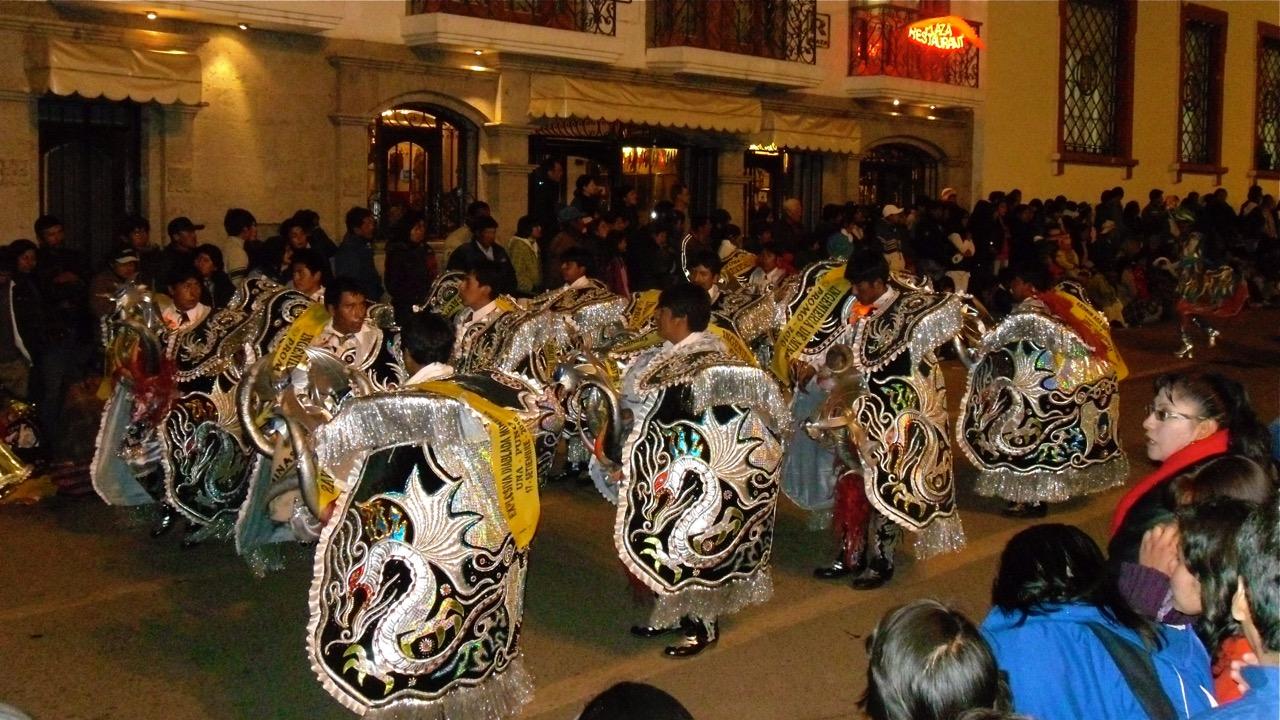 ancient peruvian dances