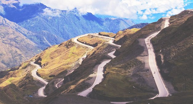 Road to Machu Picchu Peru