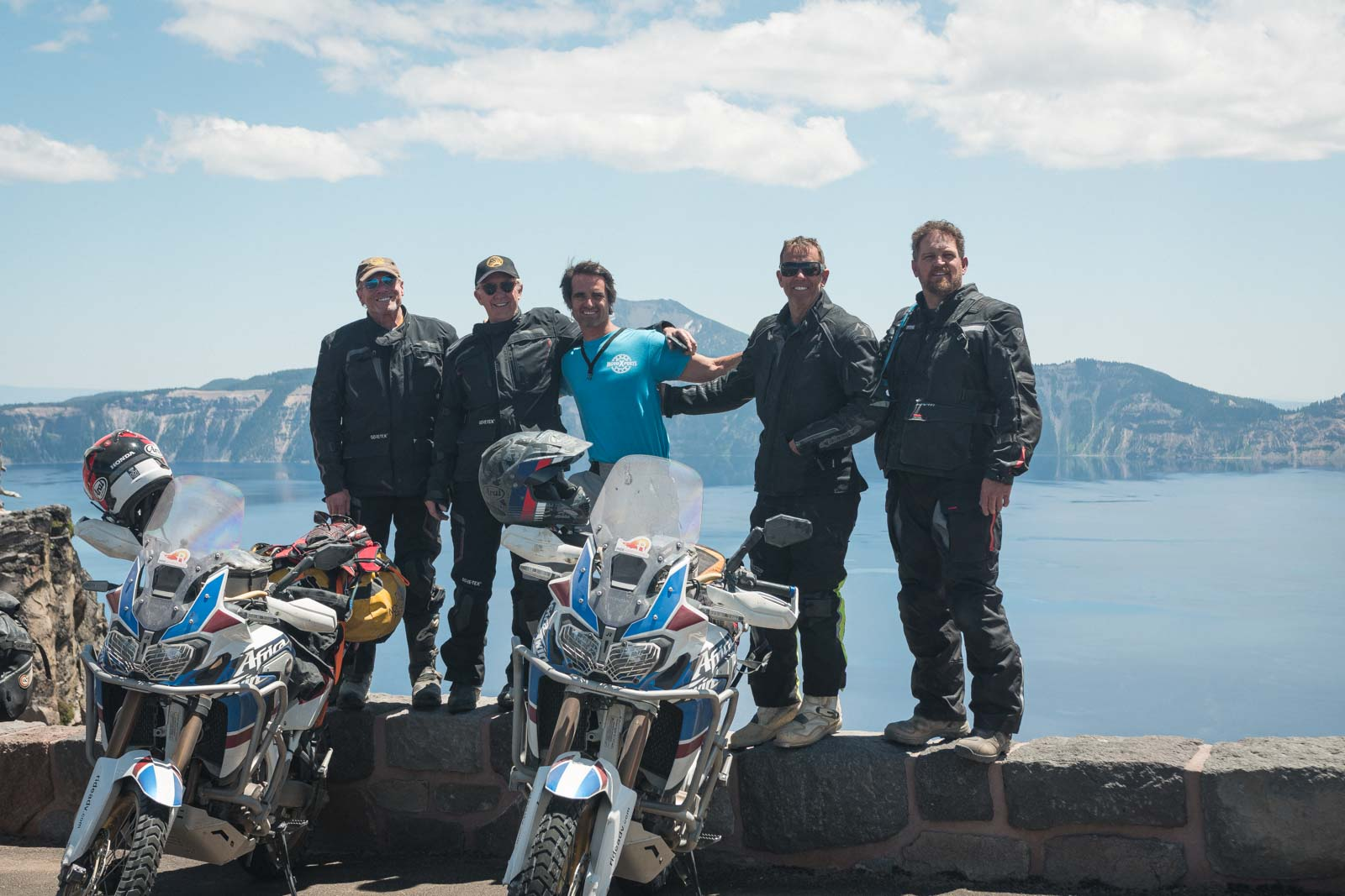 gang-at-crater-lake-national-park-on-adventure-motorcycle-tour-oregon
