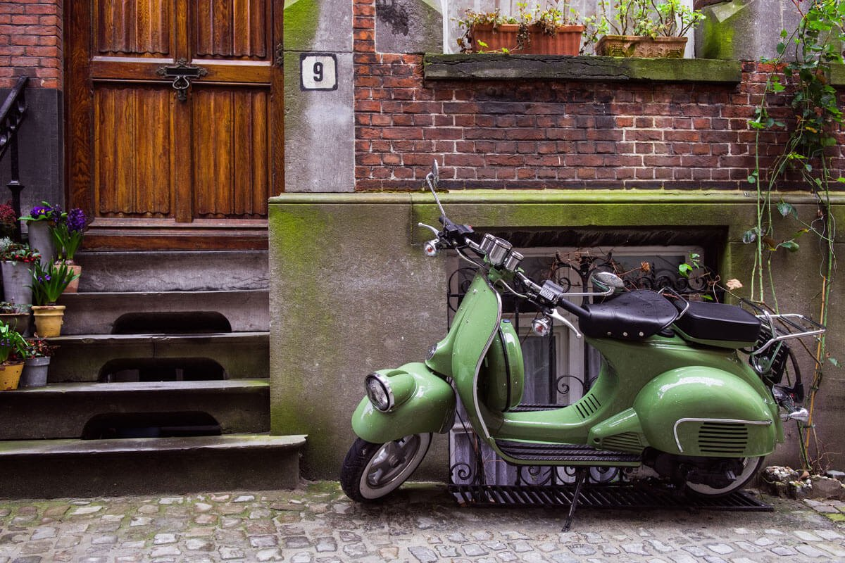 green-scooter